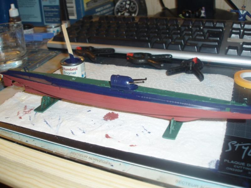 sous-marin SURCOUF 1/400 465465Photo167