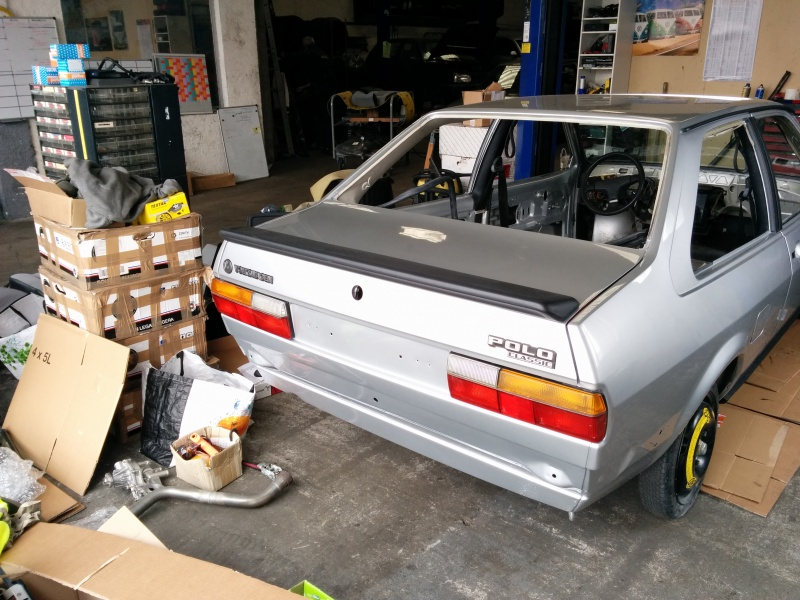 Polo 'Classic' 88  -  Restauration - Page 2 466059IMG20150404132710