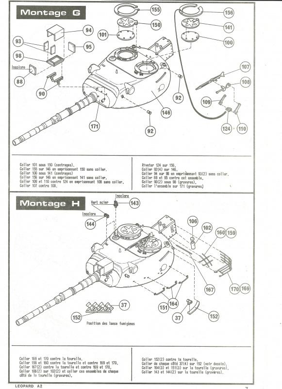 Char LEOPARD A2 - (Réf. 822) 1/35 467035HellerLopardA2822007