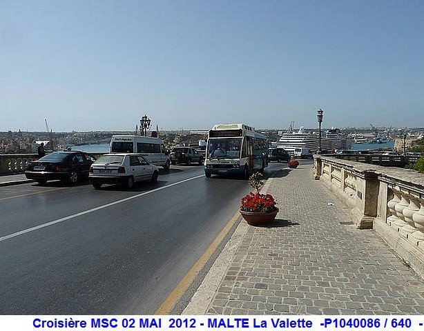MSC Splendida Du 28 avril au 5 mai 2012 Gêne Barcelone Tunis La valette Taormine Messine Rome 468309P1040086