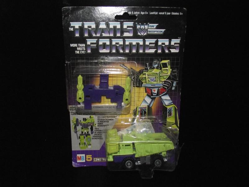 Les Transformers Milton Bradley (MB) - France - Page 2 470258DSCF1629