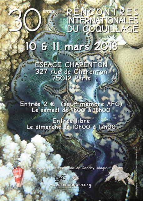 Paris 30 èmes Rencontres Internationales du Coquillage 10 & 11 mars 2018 472398RICParis1011032018web