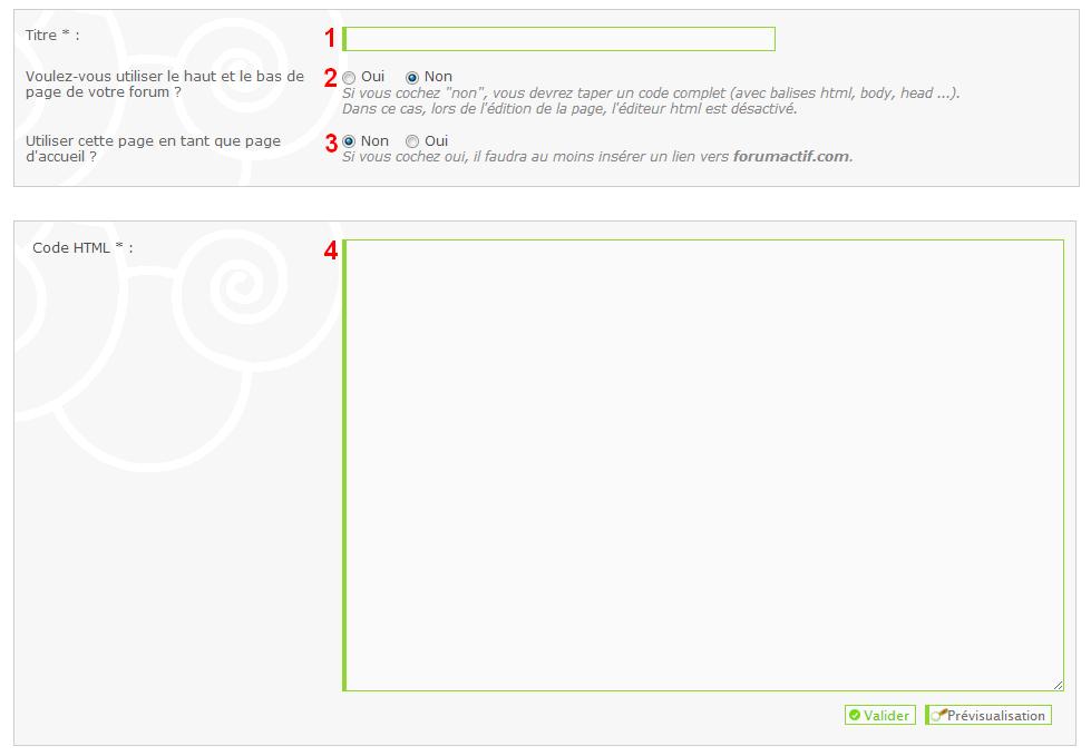 Utiliser les pages HTML et les iframes sur votre forum 473079Sanstitre5