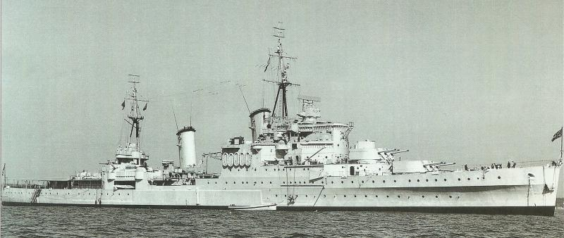 ROYAL NAVY CROISEURS LEGERS CLASSE TOWN (1936) 473801HMSNewcastle