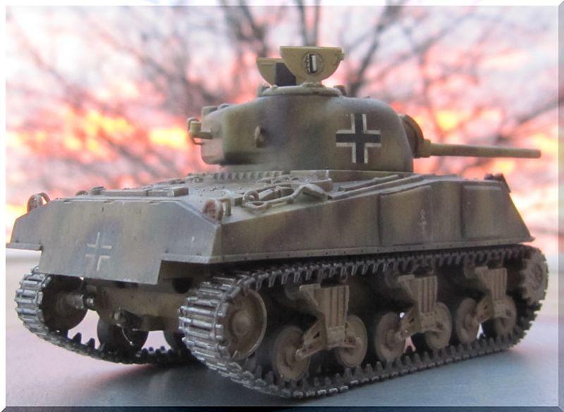 Beutepanzer Sherman M4A2 - Dragon - 1/72ème  474751termin3