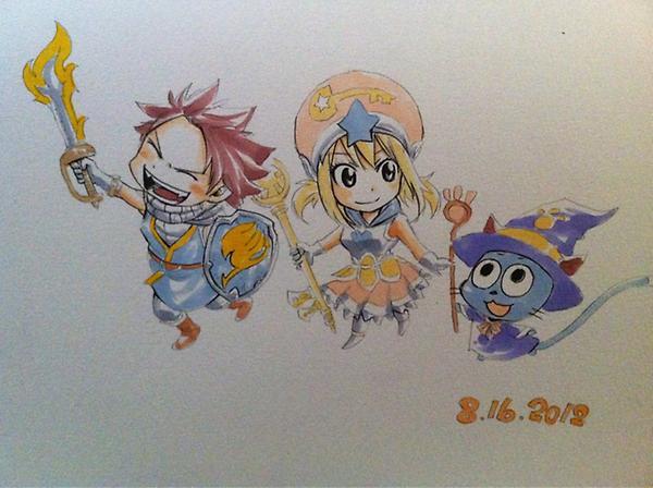 Les dessins de Mashima-Sensei ! :D 475254A0baX7MCQAA8yFo