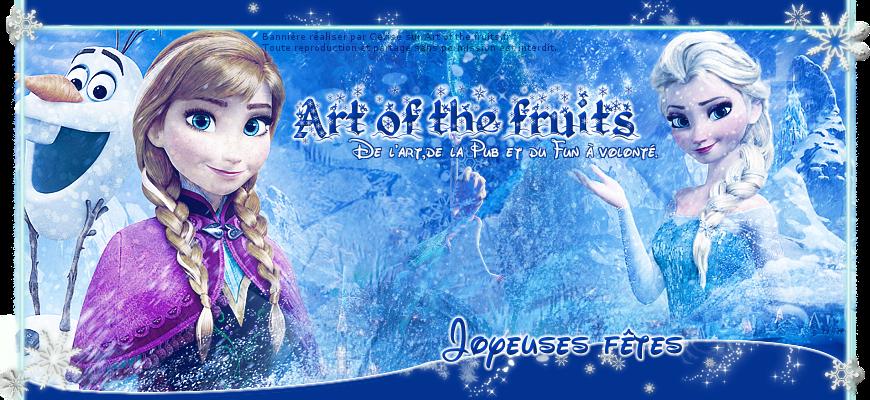 Les thèmes de Art of the fruits. 475758bannierelareinedesneige