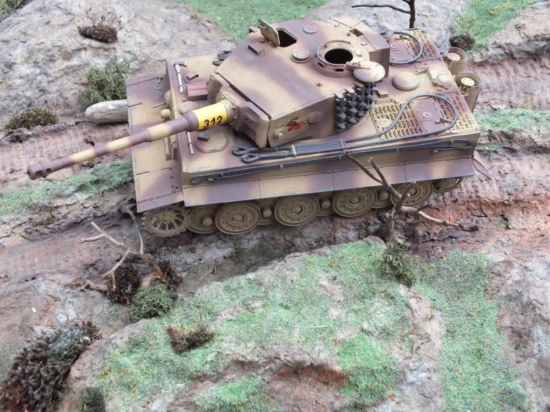 Tiger I Late version ,tamiya 1/35 (début de patine) - Page 2 476526DSCF6416