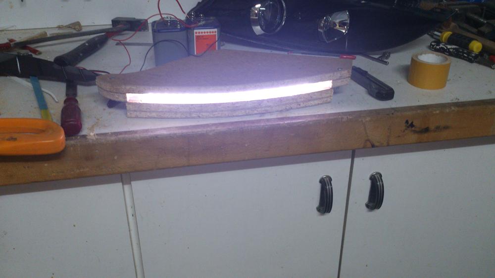 Modification des phares halogènes : HID + Led 479414DSC0565