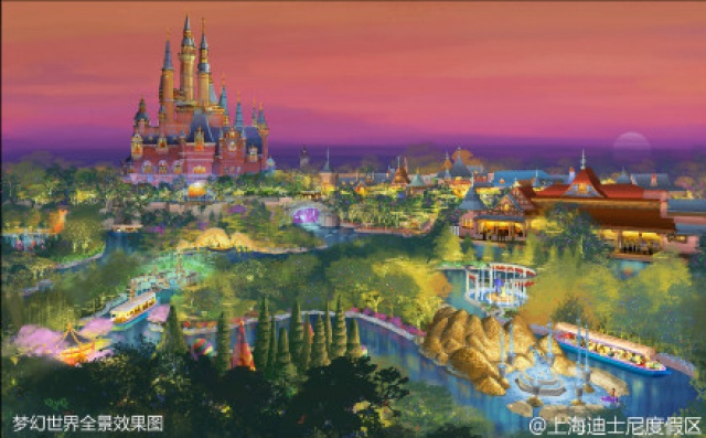 [Shanghai Disneyland] FANTASYLAND (Crystal Grotto/Peter Pan/Alice...Maze/7 Dwarfs/Winnie/Frozen)  479457SD4
