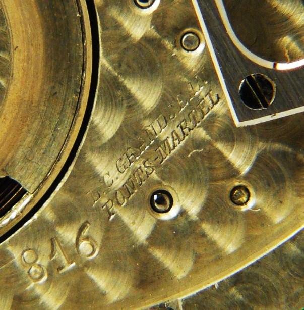 Je suis tombé en extase devant cette montre qui vient de Belgique ...  480032019
