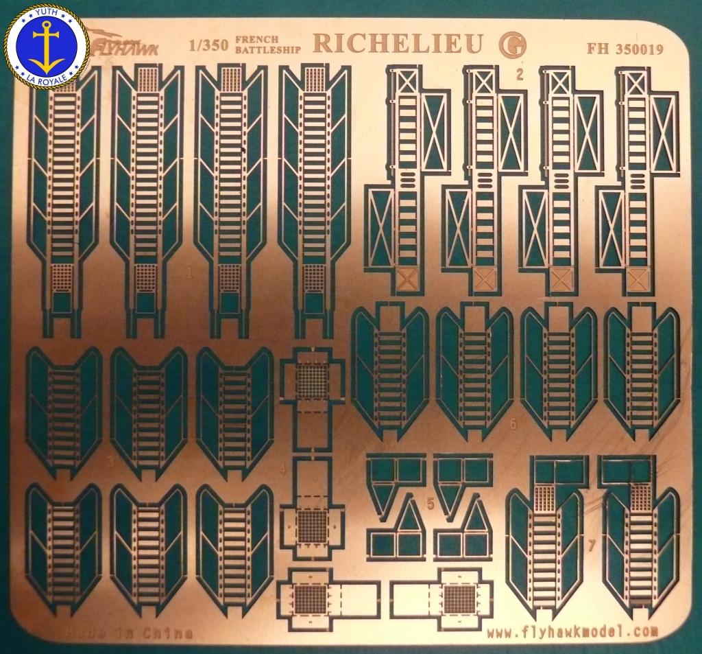 Set Richelieu 1/350 Super Detail FLYHAWK 480870Richelieuflyhawk013