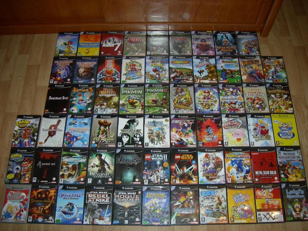 My collec ! Retro un jour.............. 480929collecgamecube