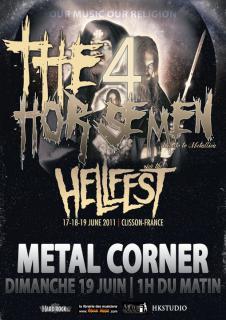 """The 4 Horsemen """"Summer Show"""" Nevers 58 / Croix 59 / Hellfest 4810232005311015010811731993155366493060535458158716n"""