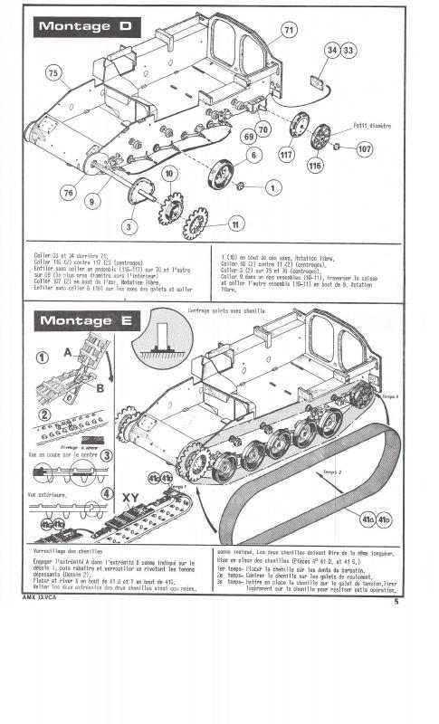 AMX 13 VCA - (Réf. L786) 1/35  482064VCA005