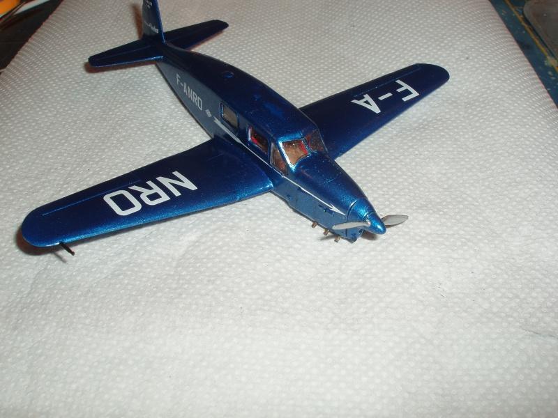 Heller avion Caudron Simoun (version Air Bleu). 482139cs19