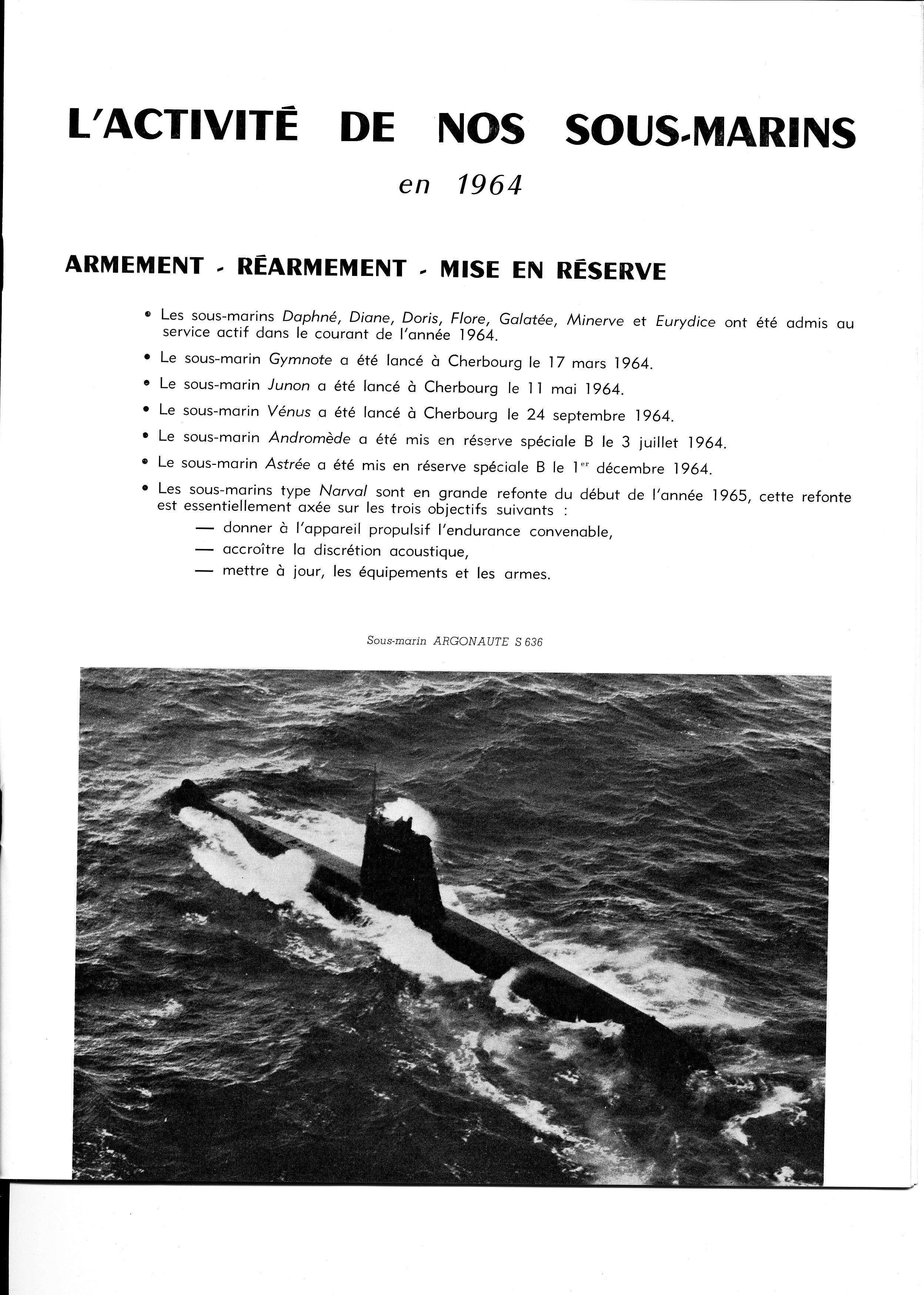 [ Divers - Les classiques ] Les 1ère et 2ème Escadrilles en 1965 482496plonge3