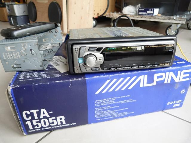 //////Alpine CTA 1505, un super tuner pour un système évolutif! 482773P1130607