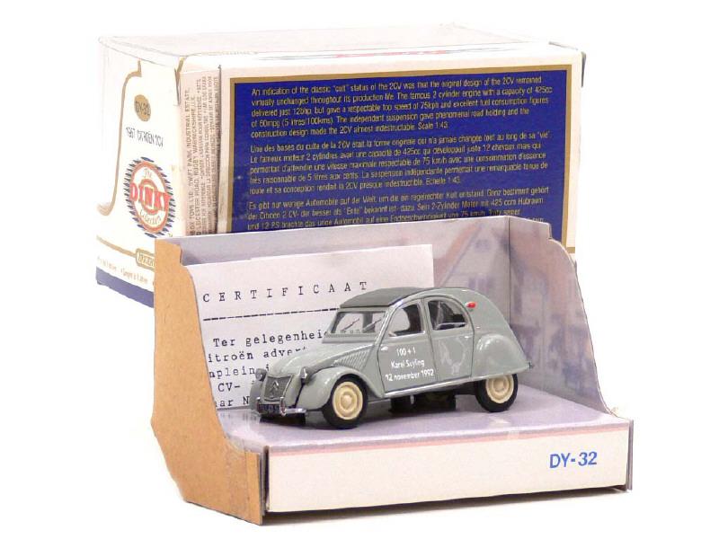 Citroën 2CV - 1957  - Dinky DY 32 - Matchbox Collection. 48400500114451