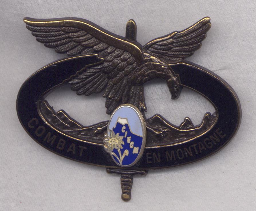 Insignes de brevet du  combat en Montagne 484078002