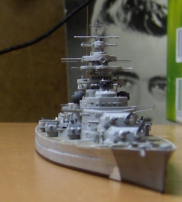 Bismarck 1/700 [Trumpeter] - Page 2 484153HPIM2082