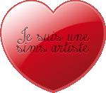 Connaissez vous toutes les faces de Sims Artists ? 484675Boutoncoeur