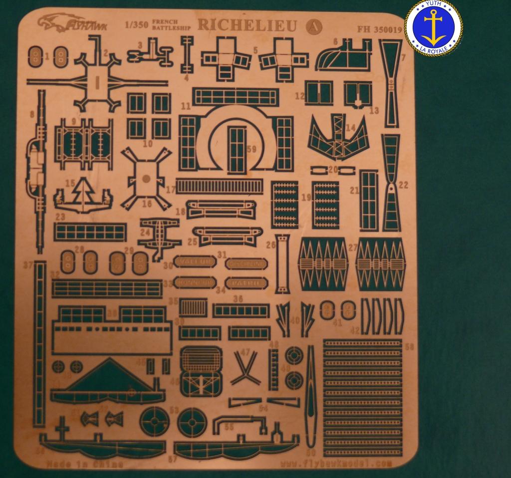 Set Richelieu 1/350 Super Detail FLYHAWK 485165Richelieuflyhawk017
