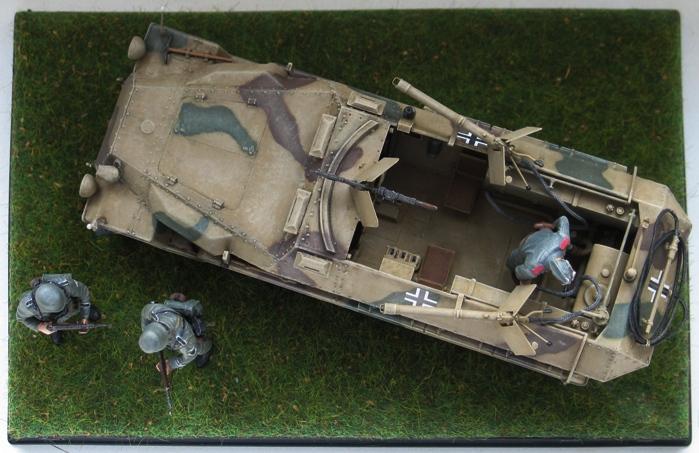 sd.kfz 251/16 flammpanzerwagen  Dragon 1/35 485657modles110035