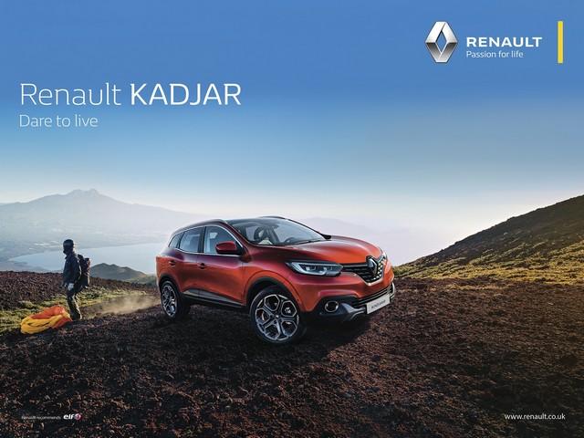 """""""Renault - La vie, avec passion"""" : la nouvelle signature de la marque au Losange 4863196814416"""