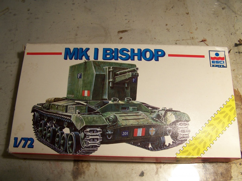 Bishop mk 1 Italie ,debut 1943 4863421005642