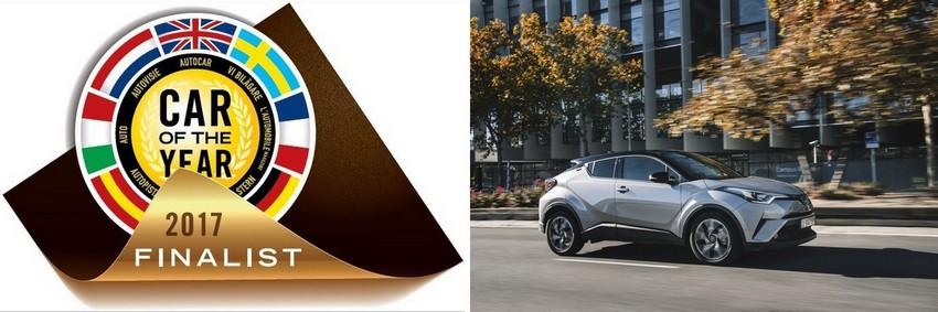 Le Toyota C-HR Parmi Les Finalistes De L'élection De La Voiture De L'année 2017 4902322017finalist2