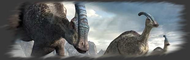 Les Hadrosaurus (Corythosaurus, Edmontosaurus, Parasaurolophus)