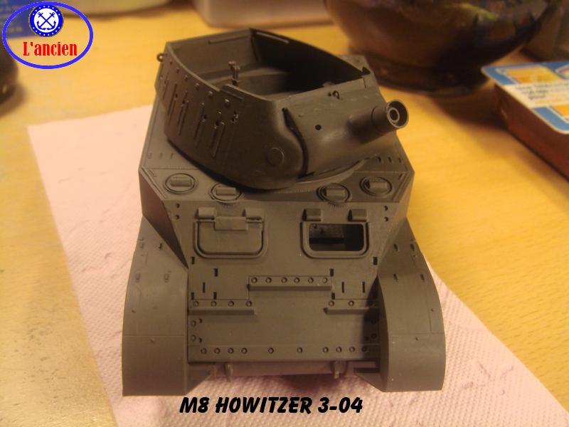 M8 US Howitzer  au 1/35 par l'ancien 491192m8304