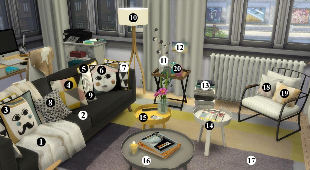Appartement scandinave (let's build et téléchargement) 49124613en1024avecnumros