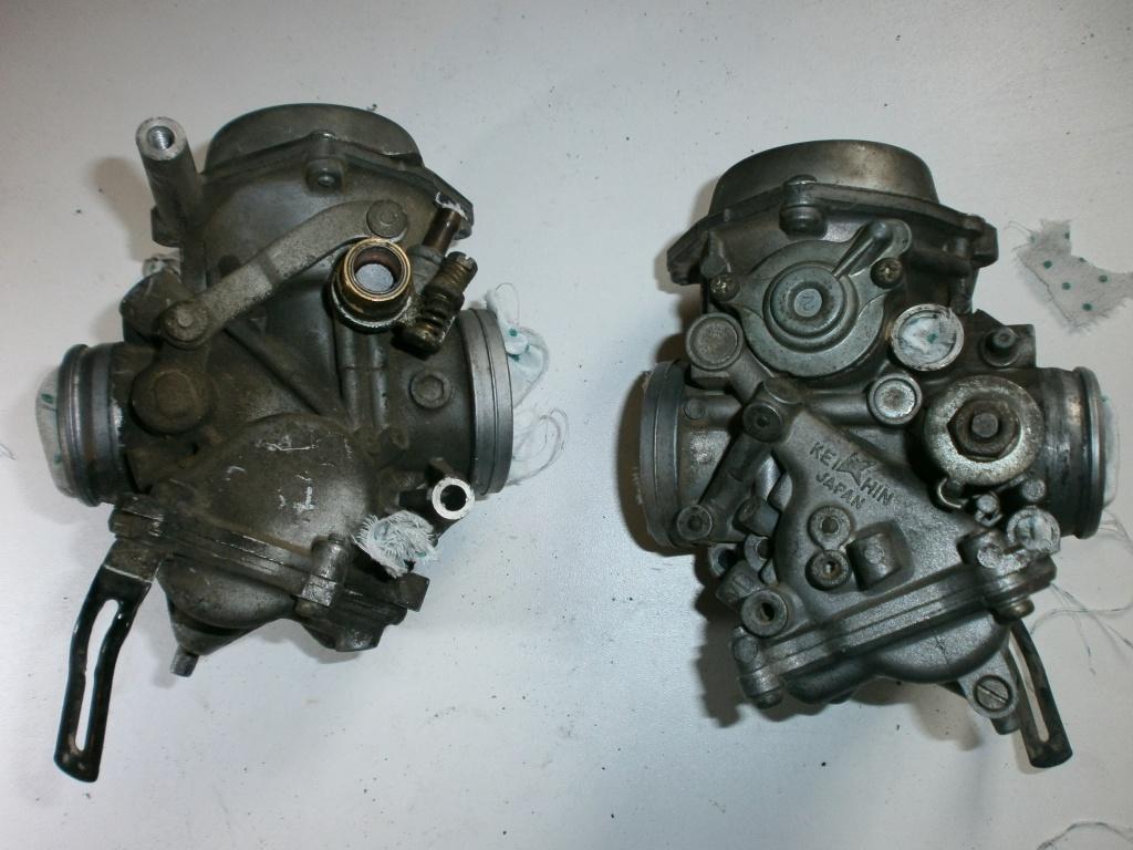 Nettoyage carburateurs de transalp 600 491633P1310012