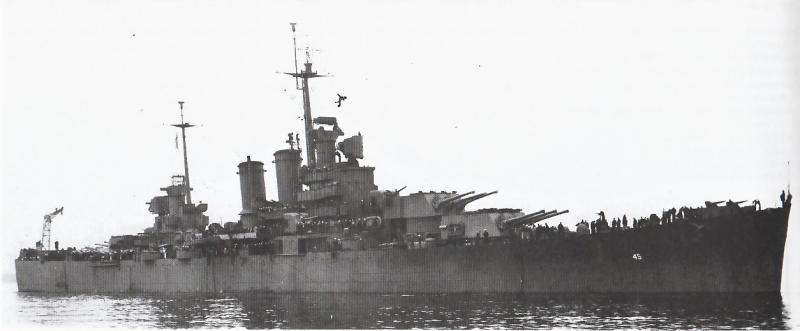 USN CROISEUR LOURD USS WICHITA 493256USSWichita1943