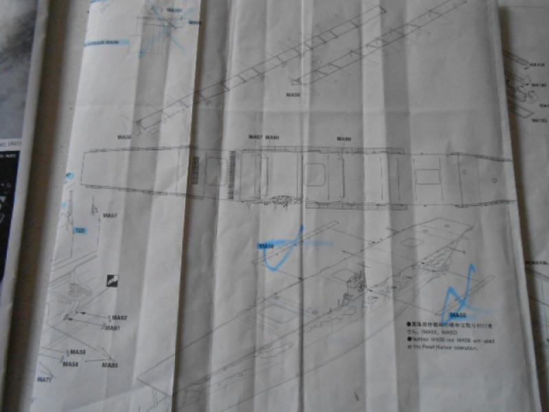 PA AKAGI 1/350 de chez Hasegawa PE + pont en bois par Lionel45 - Page 5 495118AKa003