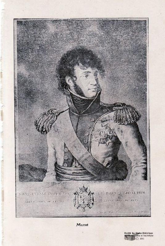 Joachim Murat : chasseur - général et Roi 497432ico1674