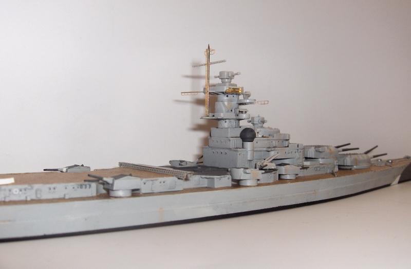 Bismarck 1/700 [Trumpeter] 497477HPIM2003