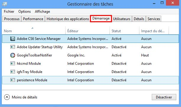Désactiver les logiciels au démarrage 498327502