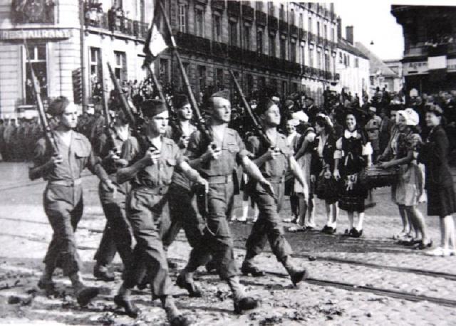 Le Bataillon de Choc 1943/1963. Photos. 499094DIJONsept44