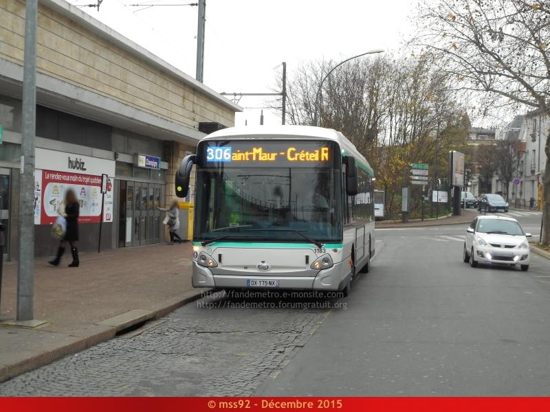 [RATP] GX 337 : Électrique, Hybride et GNV - Page 2 499217DSCN1593