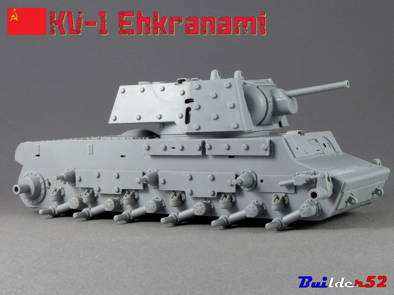 KV-1 Ehkranami  -  TRUMPETER 1/35 499259P1030087
