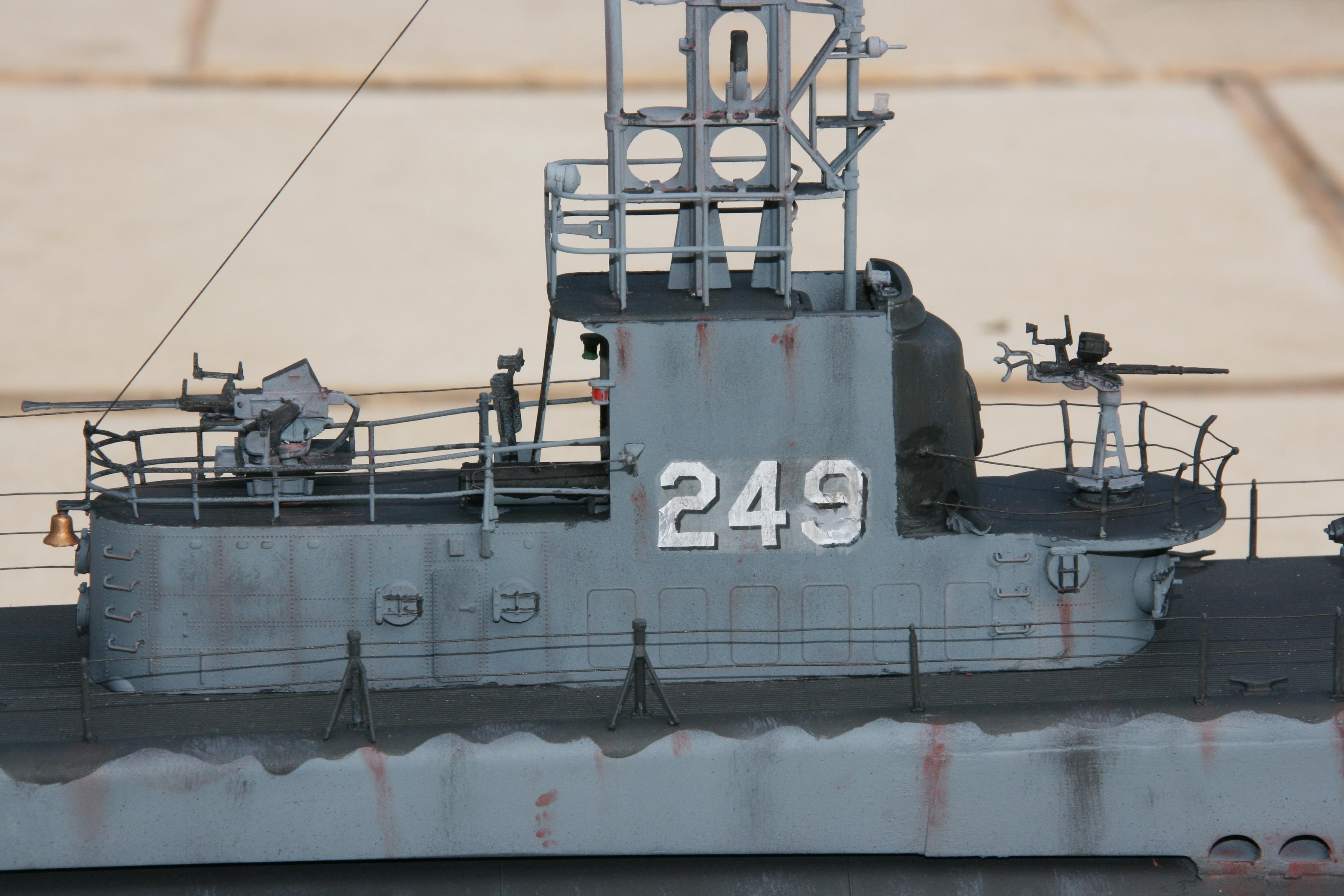 USS FLASHER, Classe Gato, 1/72° 499339IMG7851