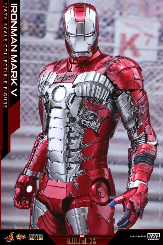 IRON MAN 2 - MARK V DIECAST 500162FBIMG1486254862791