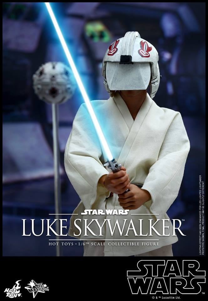 HOT TOYS - Star Wars: Episode IV A New Hope - Luke Skywalker 500374104