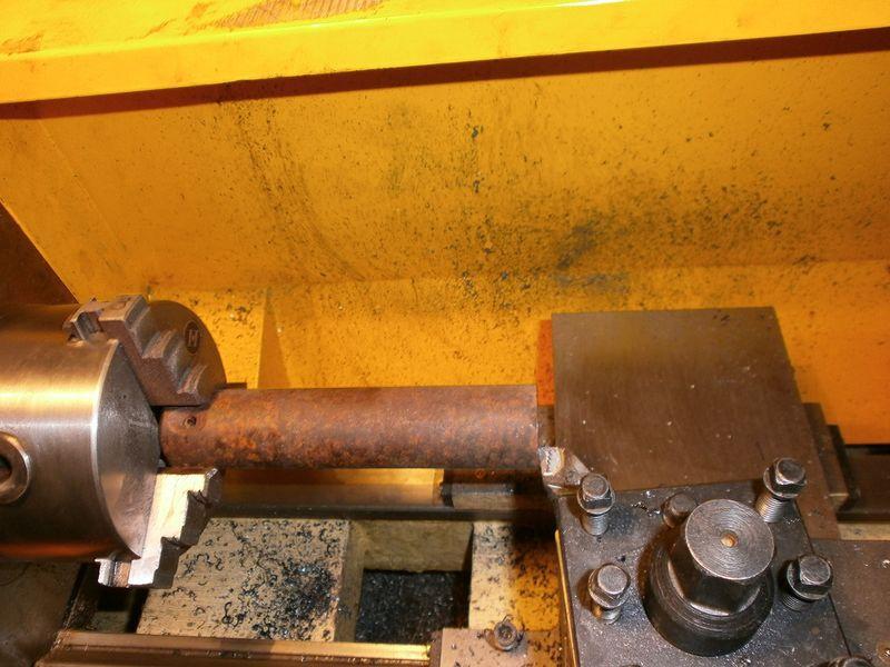 Fabrication d'un raccord pour ma pompe à lubrifiant 500711PB090008