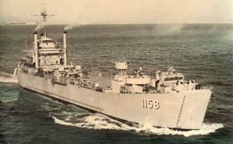 LANDING SHIP TANK (LST) CLASSE NEWPORT  500920USSTiogaCounty