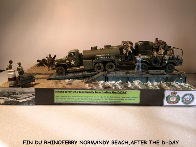 Rhinoferry D12 Normandy Beach(after the D-DAY) 502802finrhinoferry046
