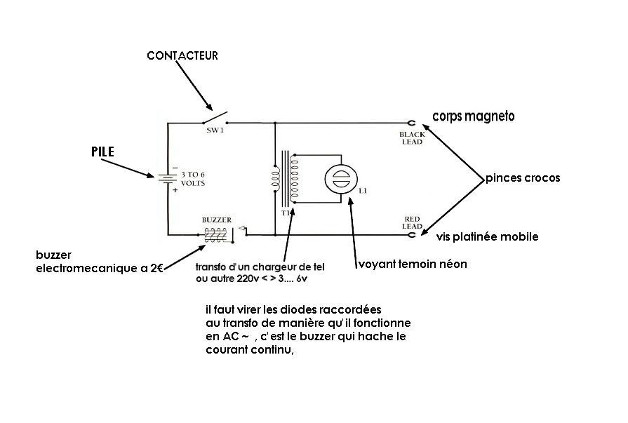 Allumage B33 1960 503966magnetotimer